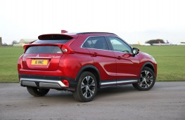 Mitsubishi Eclipse Cross, 2018, rear, static