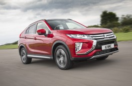 Mitsubishi Eclipse Cross, 2018, front