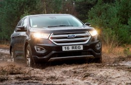 Ford Edge, 2016, front