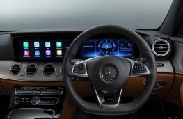 Mercedes-Benz E 220d AMG Line, 2016, dashboard