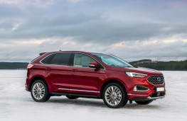 Ford Edge Vignale, 2019, front