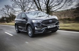 Ford Edge ST-Line, 2019, front, action