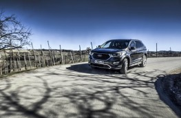 Ford Edge Vignale, 2017, front, action