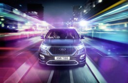 Ford Edge Vignale, front