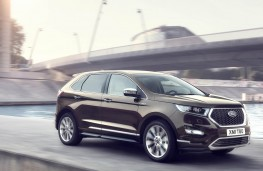 Ford Edge Vignale, 2017, front