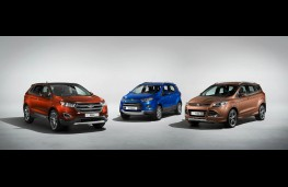 Ford UK SUV line up 2016, Edge, EcoSport, Kuga