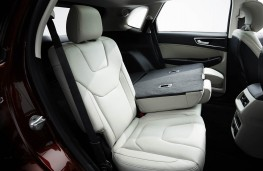Ford Edge, 2016, rear seats