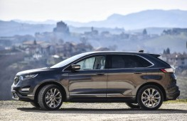 Ford Edge Vignale, 2017, side, static
