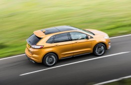Ford Edge, gold, side