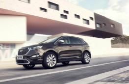 Ford Edge Vignale, 2017, side