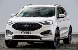 Ford Edge, 2018, front, static