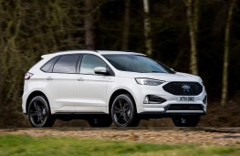 Ford Edge, 2018, side
