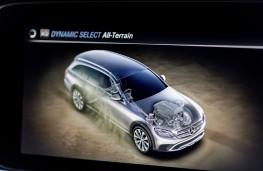 Mercedes-Benz E350 d 4Matic All-Terrain, 2017, off road display
