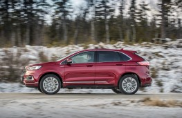 Ford Edge Vignale, 2019, side, action