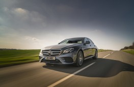 Mercedes-Benz E 220d AMG Line, 2016, front