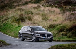 Mercedes-Benz E350 d 4Matic All-Terrain, 2017, front, action