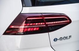 Volkswagen e-Golf, 2017, badge