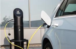Volkswagen e-Golf, 2017, charging