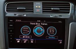 Volkswagen e-Golf, 2017, display screen
