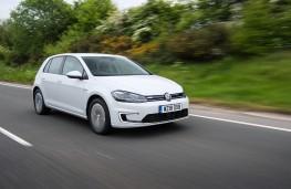 Volkswagen e-Golf, 18-plate, front