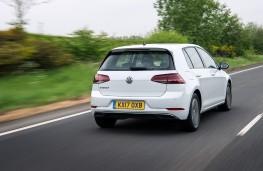 Volkswagen e-Golf, 2017, rear, action