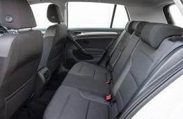 Volkswagen e-Golf, 2017, rear seats