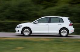 Volkswagen e-Golf, 2017, side