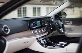 Mercedes-Benz E350 d 4Matic All-Terrain, 2017, interior