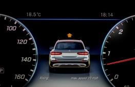 Mercedes-Benz E350 d 4Matic All-Terrain, 2017, instrument panel