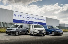 Stellantis Ellesmere Port factory, 2021, electric vans
