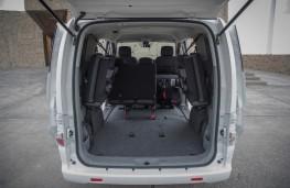 Nissan e-NV200, 2019, boot, maximum