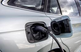 Skoda Enyaq iV 80, 2021, charging point