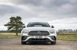 Mercedes-Benz E 220d AMG Line, 2016, nose