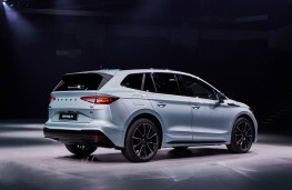 Skoda Enyaq, 2020, rear, static