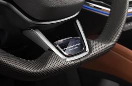 Skoda Enyaq Founders Edition, 2021, steering wheel