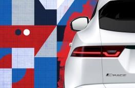 Jaguar E-PACE, 2017, teaser
