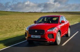 Jaguar E-Pace First Edition, 2017, front, action