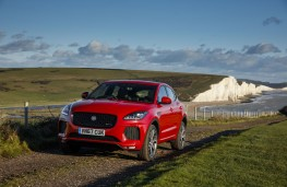 Jaguar E-Pace First Edition, 2017, front, static