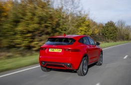 Jaguar E-Pace First Edition, 2017, rear, action
