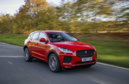 Jaguar E-Pace First Edition, 2017, side