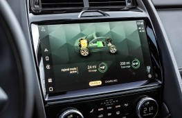 Jaguar E-Pace P300e, 2021, display screen