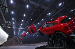 Jaguar E-PACE, 2017, world record barrel roll, sequence 2