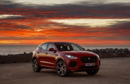 Jaguar E-Pace First Edition, 2017, side, static