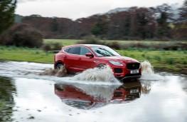 Jaguar E-Pace, 2018, wading