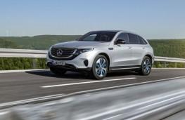 Mercedes-Benz EQC, 2019, front