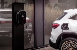Mercedes-Benz EQA, 2021, charging