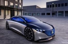 Mercedes-Benz Vision EQS concept, 2019, front
