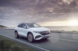 Mercedes-Benz EQA, 2021, front