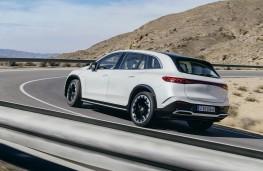 Mercedes-Benz Vision EQS concept, 2019, rear
