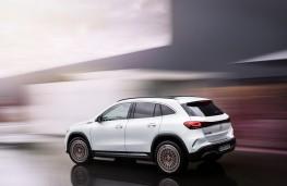 Mercedes-Benz EQA, 2021, rear